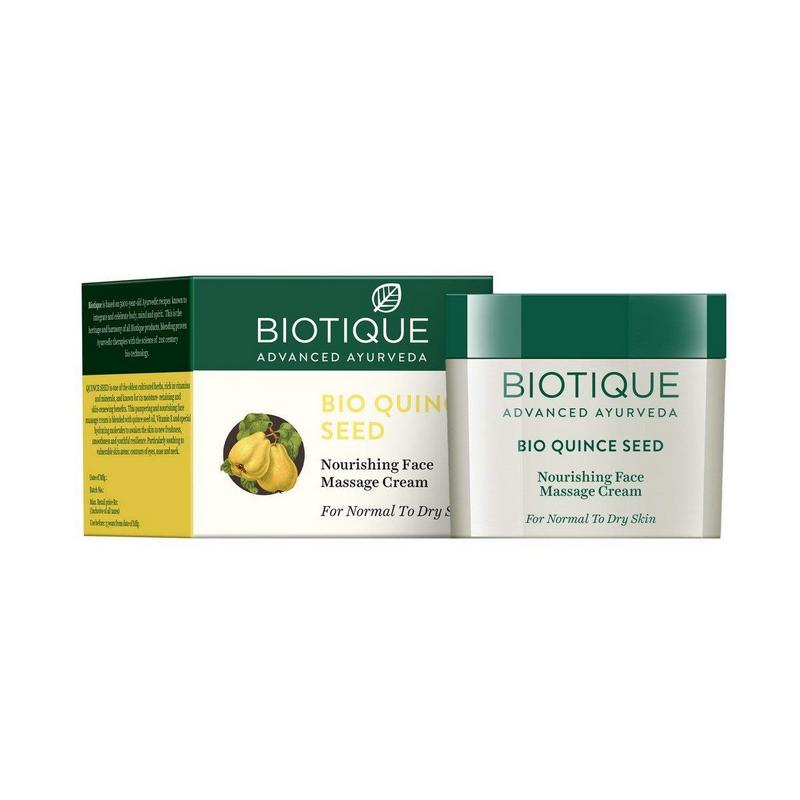 Biotique Bio Quince Seed Nourishing Face Massage Cream 50gm