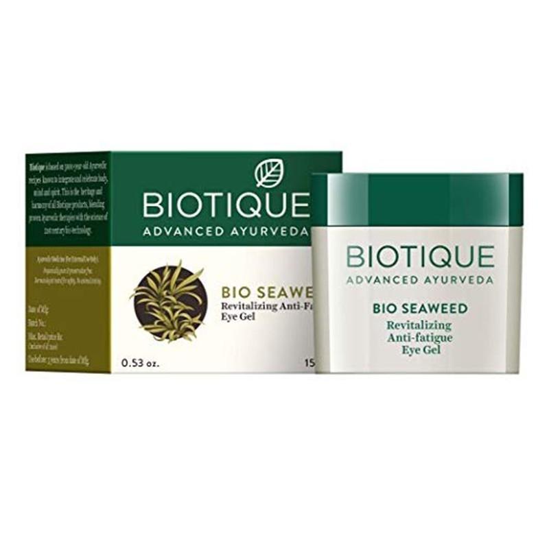 Biotique Bio Seaweed Revitalizing Anti Fatigue Eye Gel 15gm