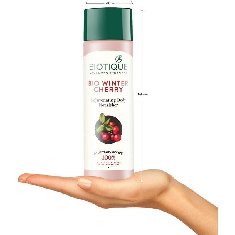 Biotique Bio Winter Cherry Rejuvenating Body Nourisher 190ml