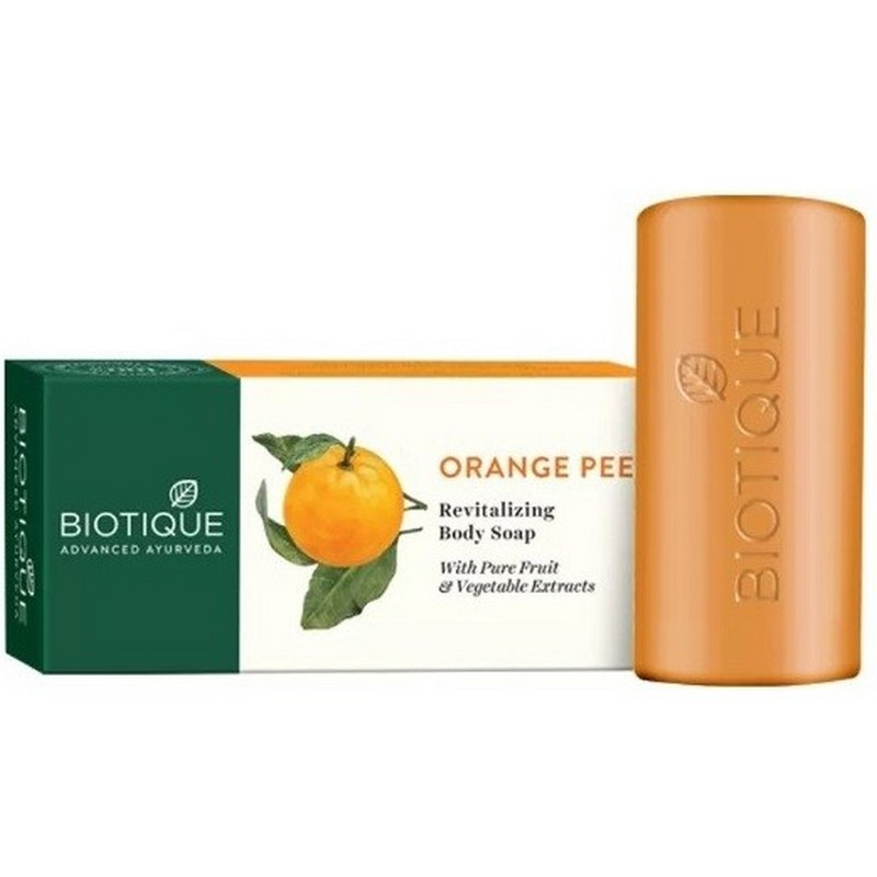 Biotique Orange Peel Revitalizing Body Soap 150gm