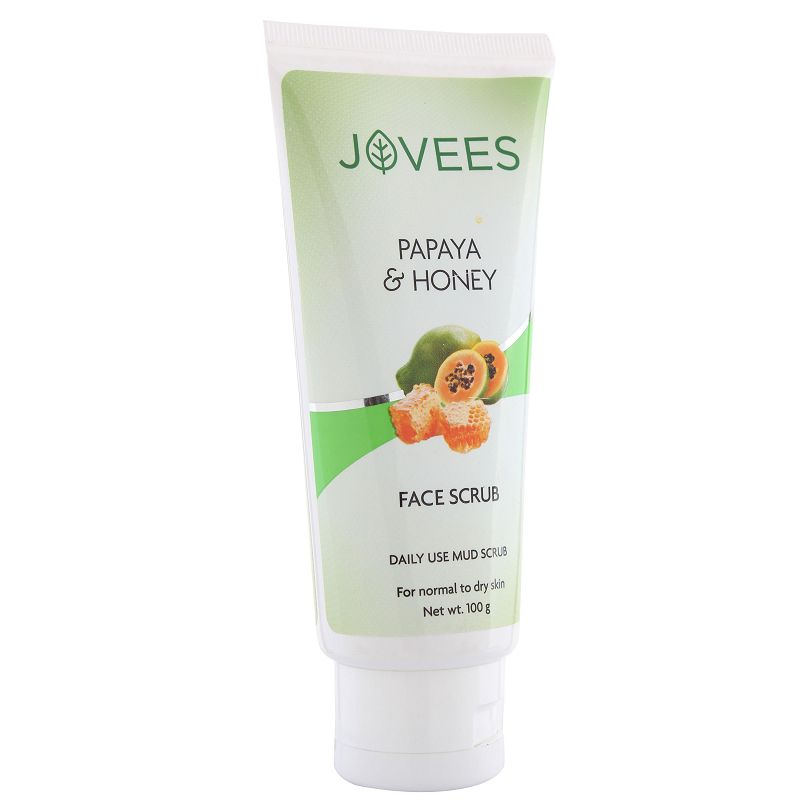 Jovees Papaya & Honey Face Scrub 100gm