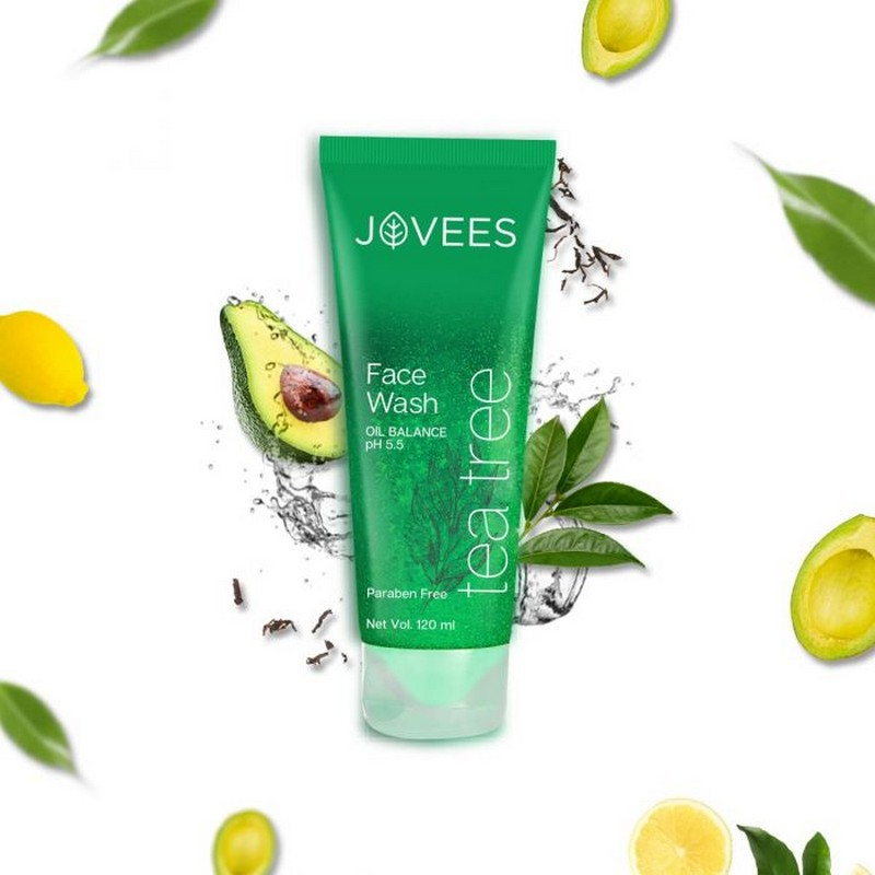 Jovees Tea Tree Oil Control Face Wash 120ml