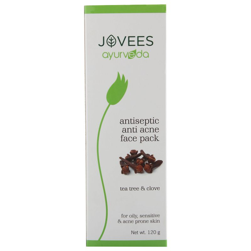 Jovees Ayurveda Antiseptic & Anti Acne Face Pack 120gm