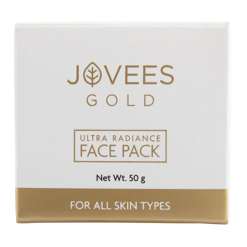 Jovees Gold 24k Gold Ultra Radiance Face Pack 50gm