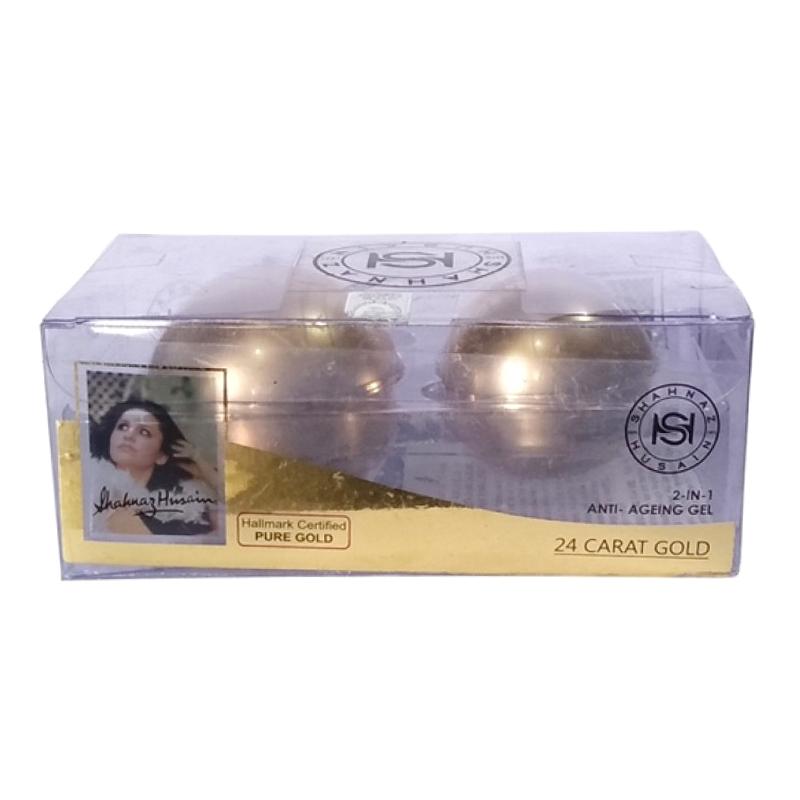 Shahnaz Husain 24 Carat Natures Gold 2 In 1 Anti Ageing Gel 40gm
