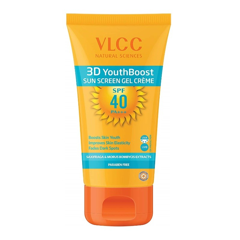 VLCC 3D Youth Boost Sunscreen Gel Creme SPF40 PA++ 100gm