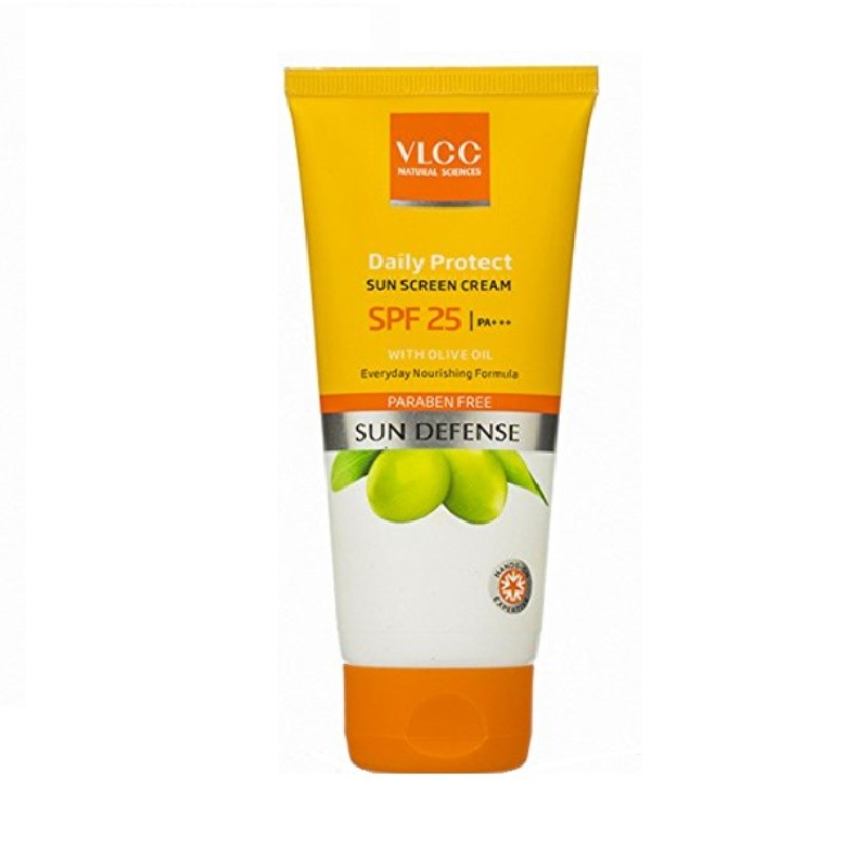 VLCC Sun Defence Daily Protect Sunscreen Cream SPF25 PA+++ 100gm