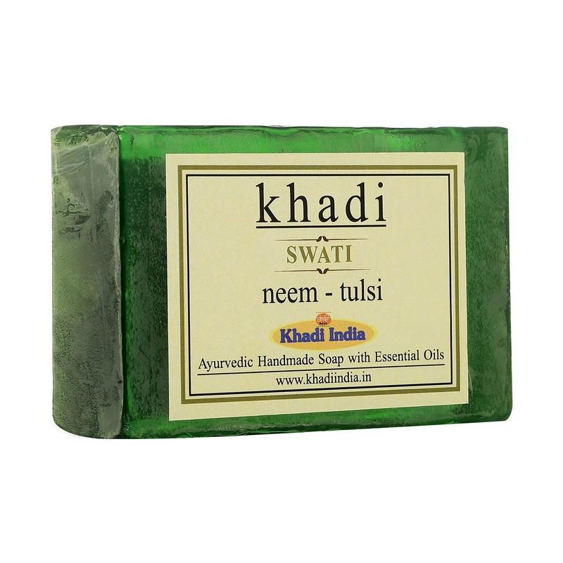 Khadi Neem Tulsi Handmade Soap