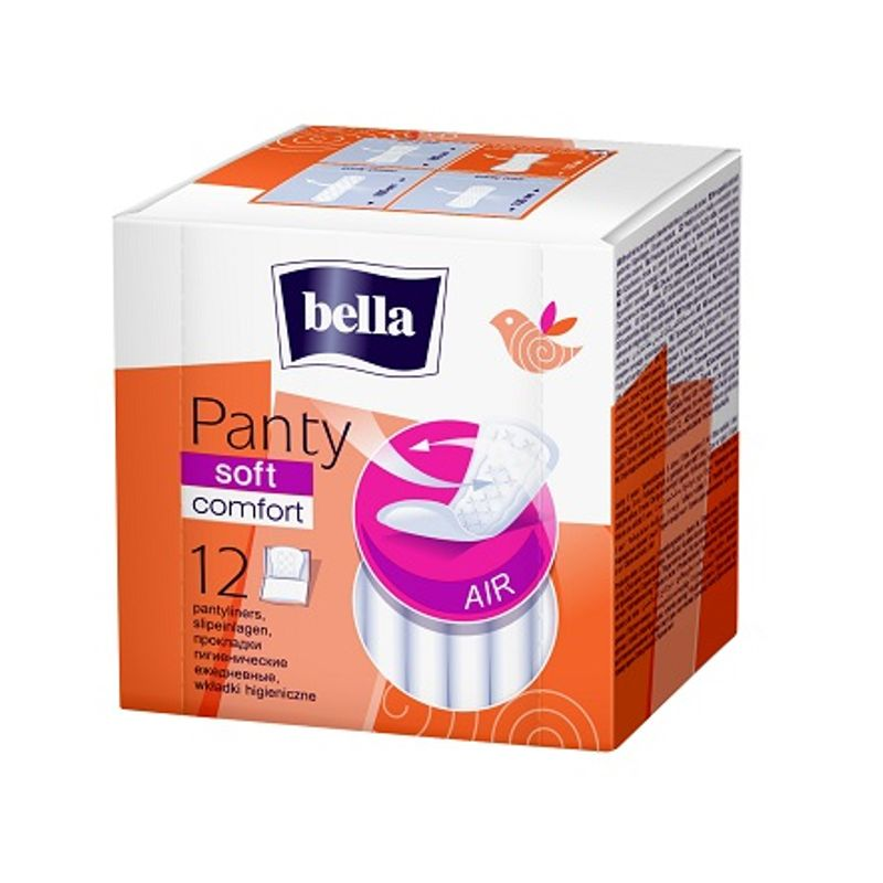 Bella Soft Comfort Panty Liners 12 Pieces
