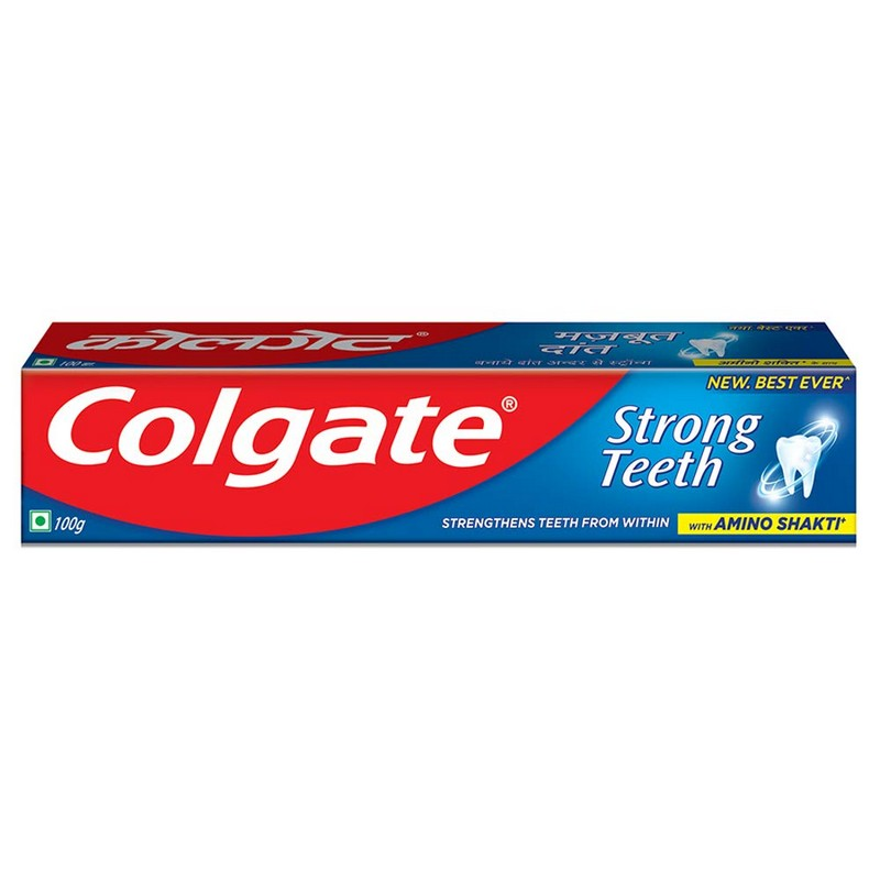 Colgate Toothpaste Strong Teeth Cavity Protection 100gm