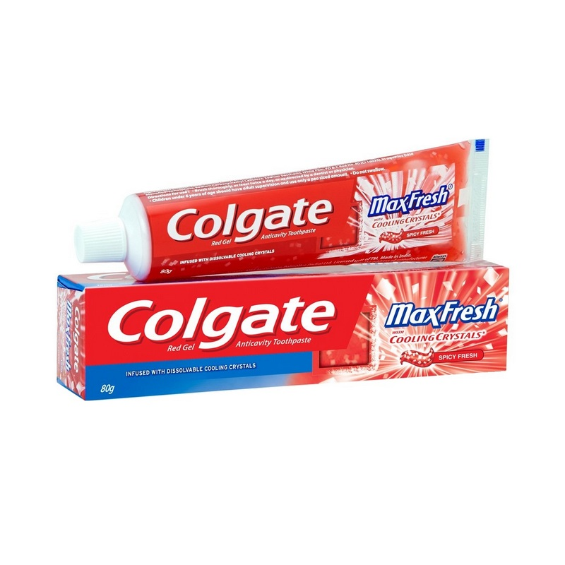 Colgate Max Fresh Red Gel Toothpaste 150gm