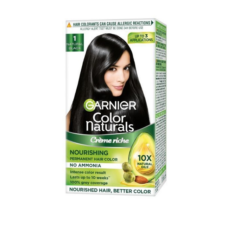 Garnier Color Naturals Hair Colour Cream Natural Black 1