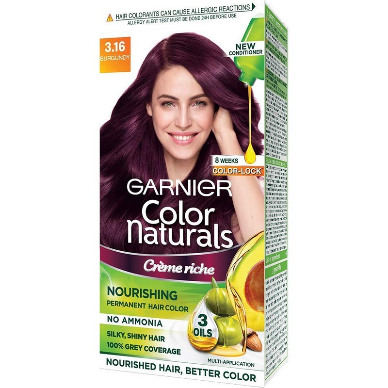 Garnier Color Naturals Hair Colour Cream Burgundy 3.16