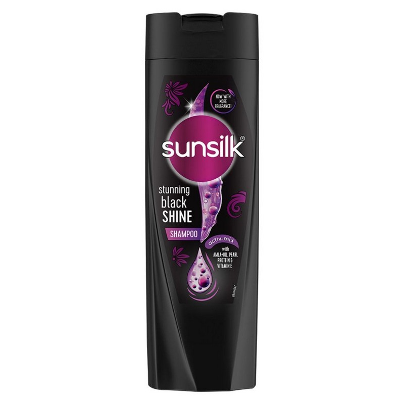 Sunsilk Stunning Black Shine Shampoo 180ml