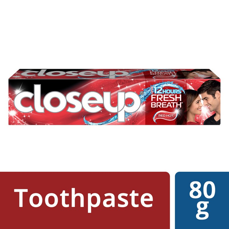 Closeup Ever Fresh Red Hot Gel Toothpaste 80gm