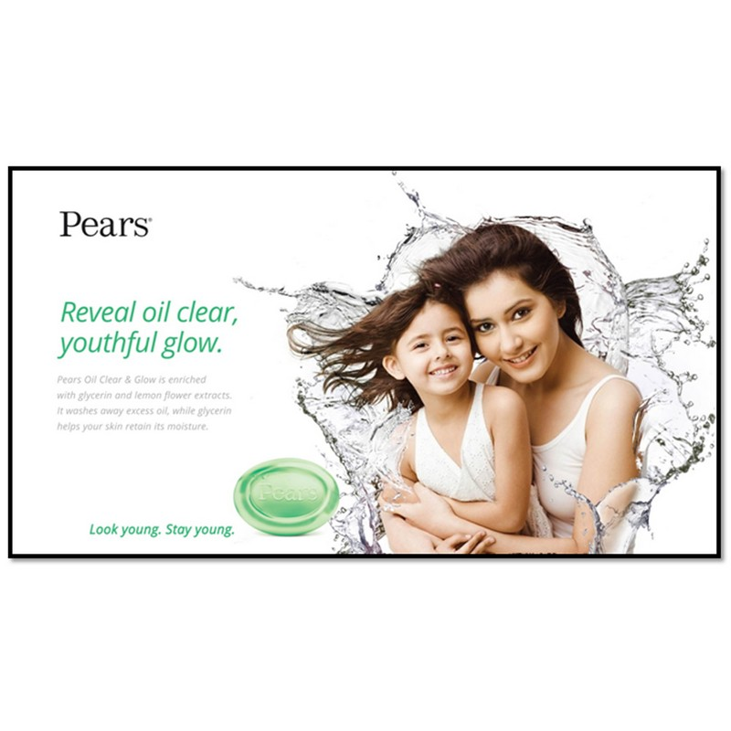 Pears Oil Clear & Glow Soap Bar 75gm