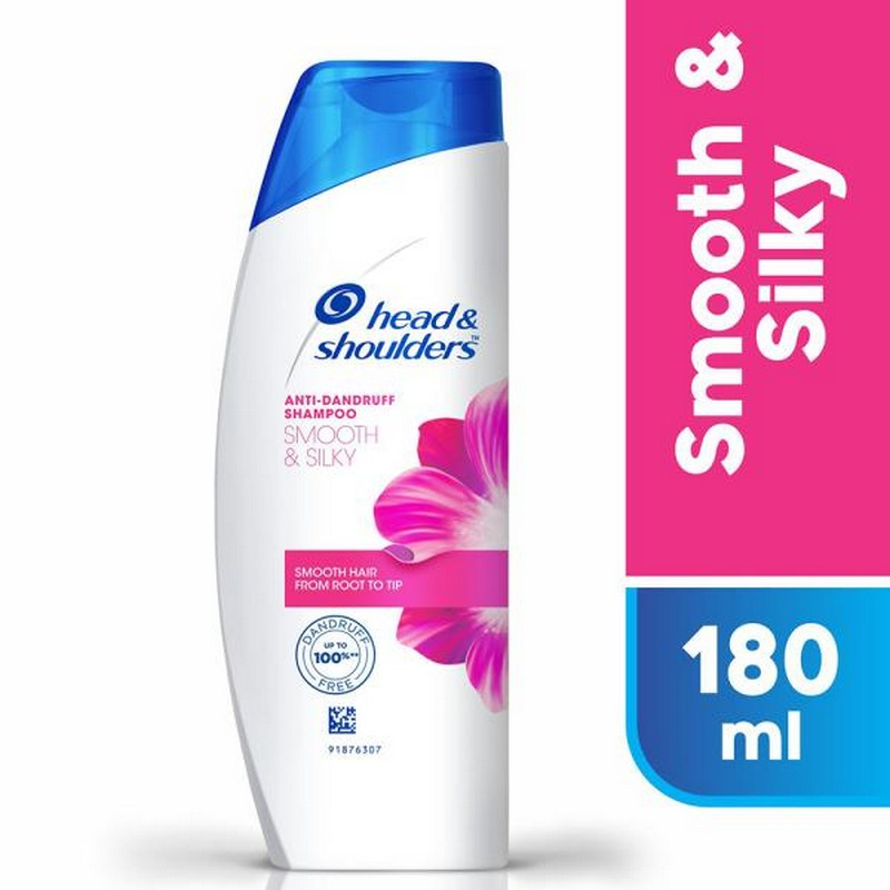 Head & Shoulders Smooth & Silky Anti-Dandruff Shampoo 180ml