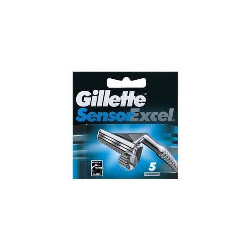Gillette Sensor Excel Blades 5 Cartridges