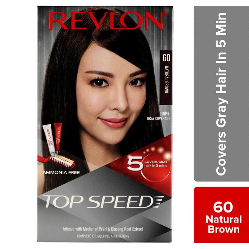 Revlon Hair Colour Top Speed Natural Brown