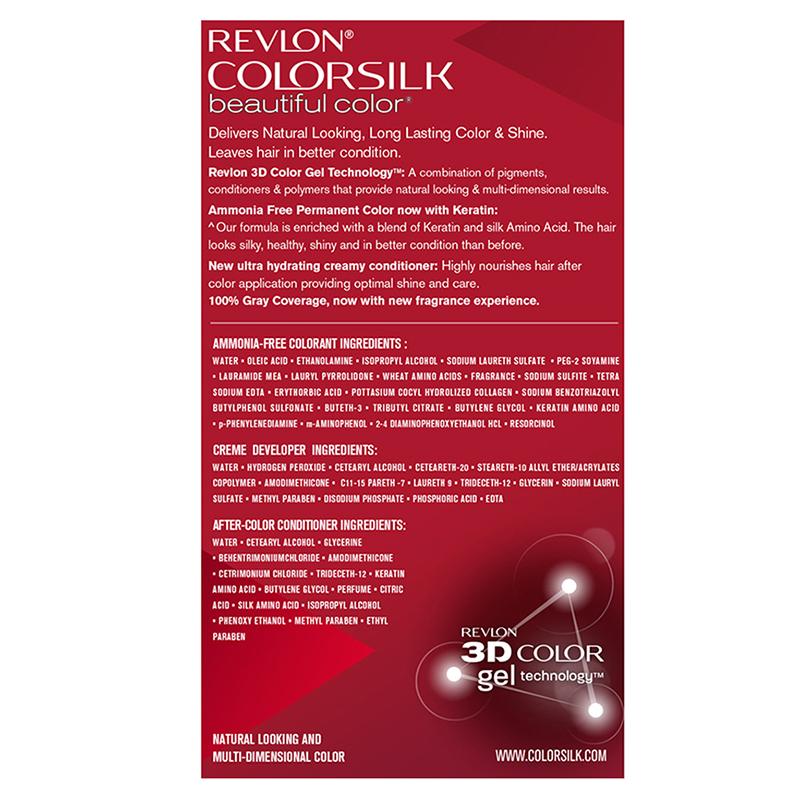 Revlon Colorsilk Hair Colour Brown Black 2N