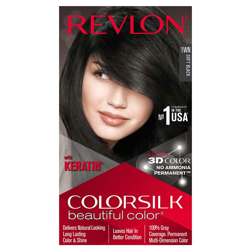 Revlon Colorsilk Hair Colour Soft Black 1WN