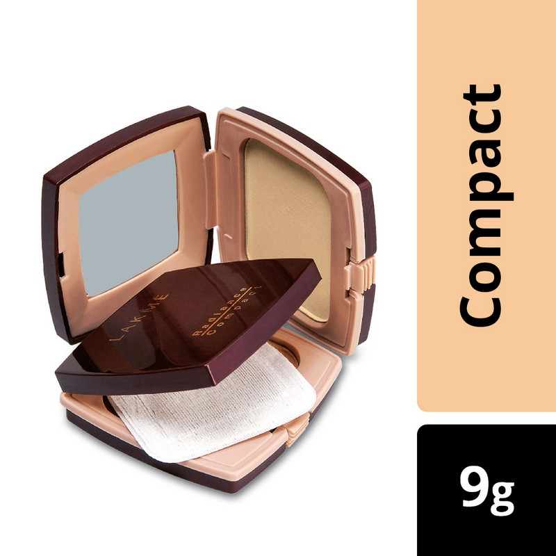 Lakme Radiance Complexion Compact Natural Coral 9gm
