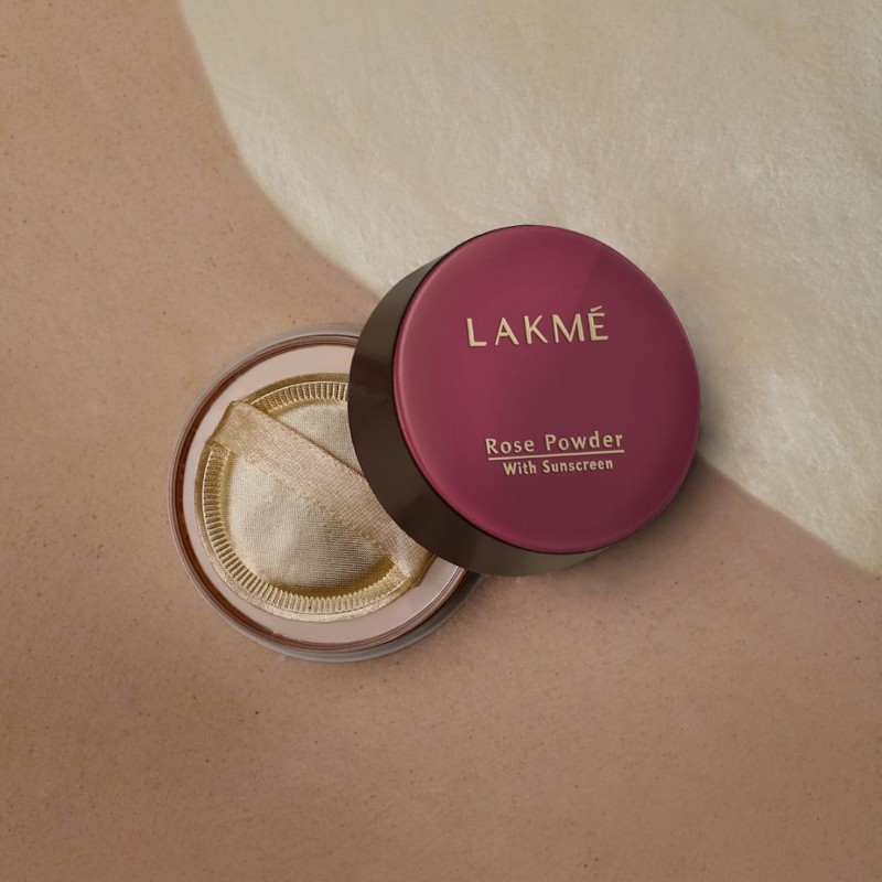 Lakme Rose Powder with Sunscreen Soft Pink 40gm