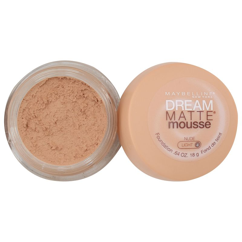 Maybelline New York Dream Matte Mousse Foundation Nude Light 4