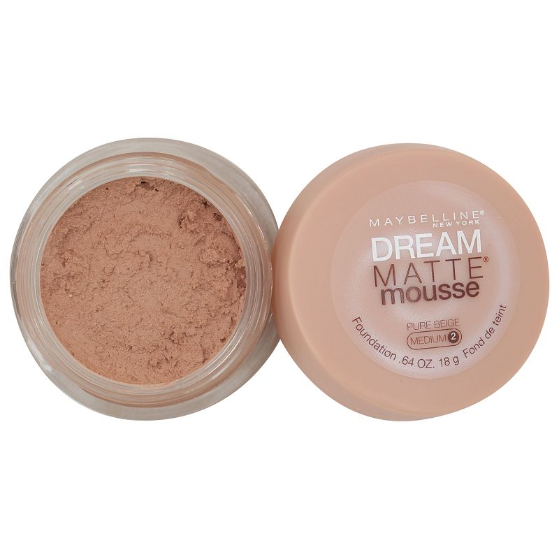 Maybelline New York Dream Matte Mousse Foundation Pure Beige Medium 2