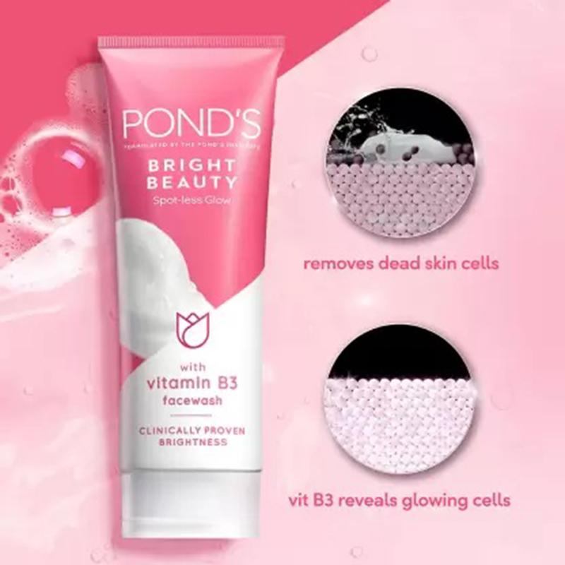 POND'S White Beauty Spot-Less Fairness Face Wash 100gm