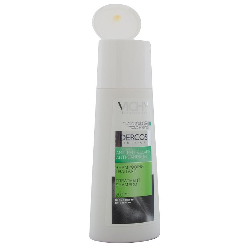 Vichy Dercos Anti Dandruff Treatment Shampoo For Oily Hair 200ml