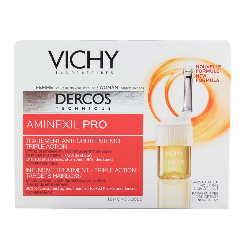 Vichy Dercos Aminexil Pro Intensive Hair Loss Treatment For Women