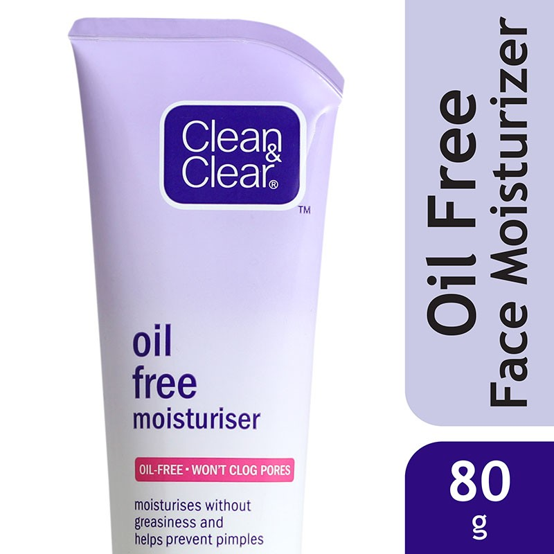 Clean & Clear Oil Free Face Moisturizer 80ml