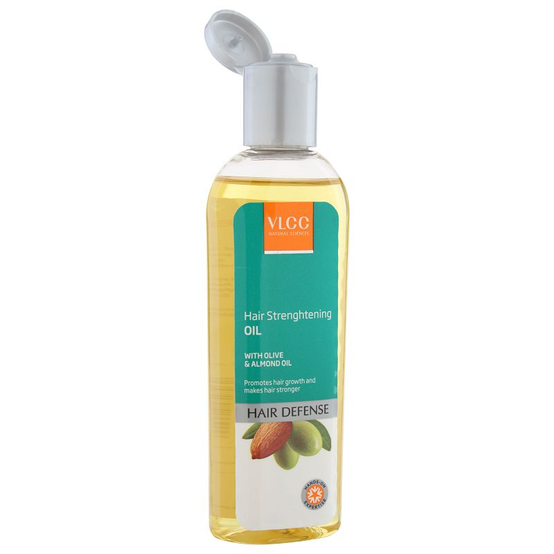 VLCC Hair Defence Strengthening Oil With Olive & Almond Oil 100ml
