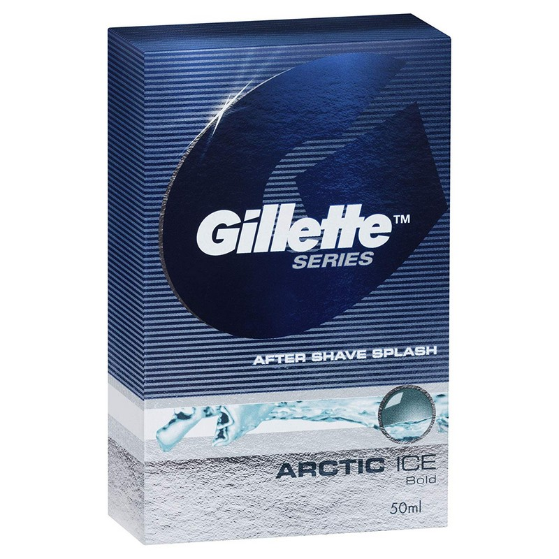 Gillette Aftershave Splash Arctic Ice 50ml
