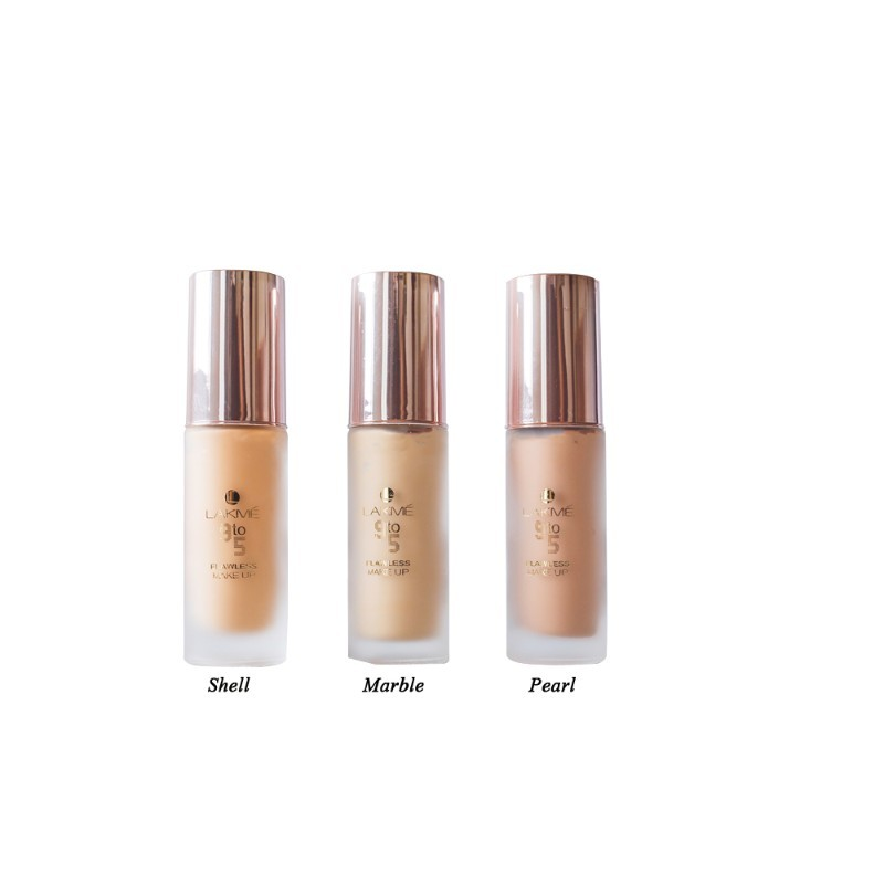 Lakme 9 To 5 Flawless Makeup Foundation Shell 30ml