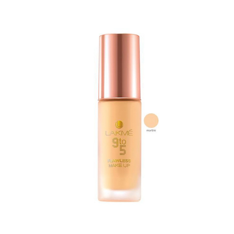 Lakme 9 To 5 Flawless Makeup Foundation Marble 30ml