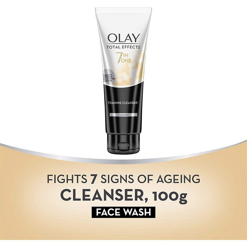Olay Total Effects 7 In One Anti-Ageing Foaming Face Wash 100gm