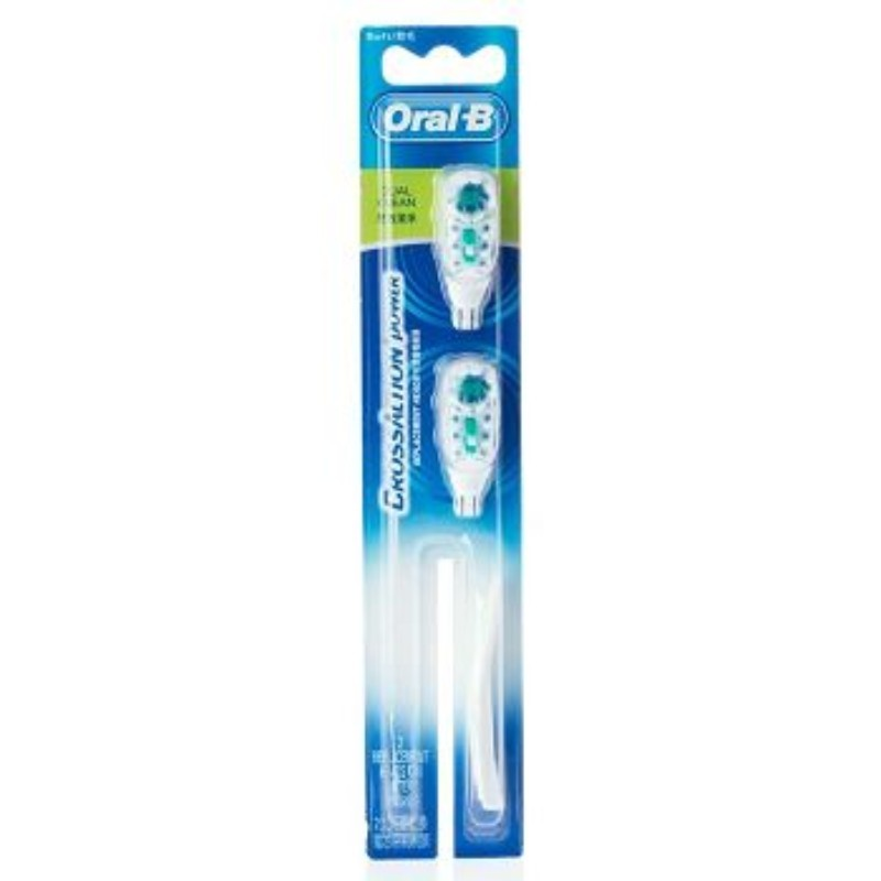 Oral-B Cross Action Power Replacement Heads Dual Clean Soft