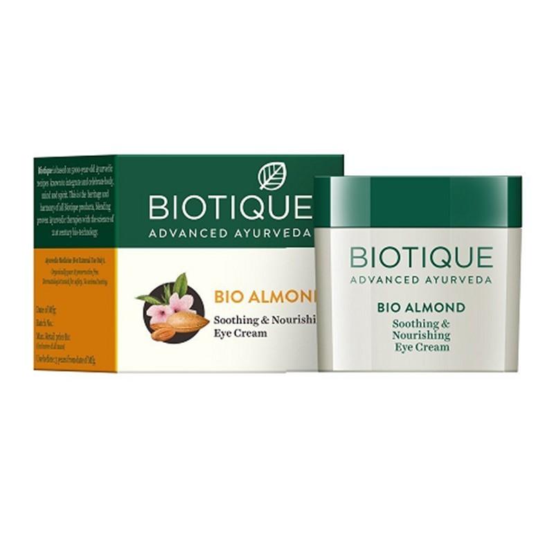 Biotique Bio Almond Soothing & Nourishing Eye Cream 15gm