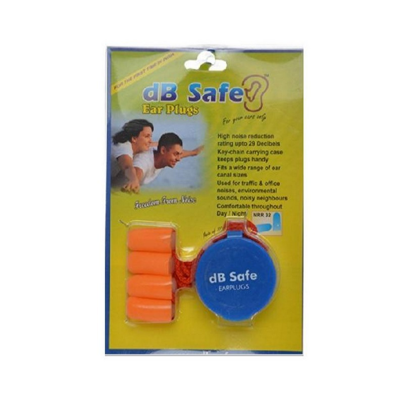 DB Safe Foam Ear Plugs