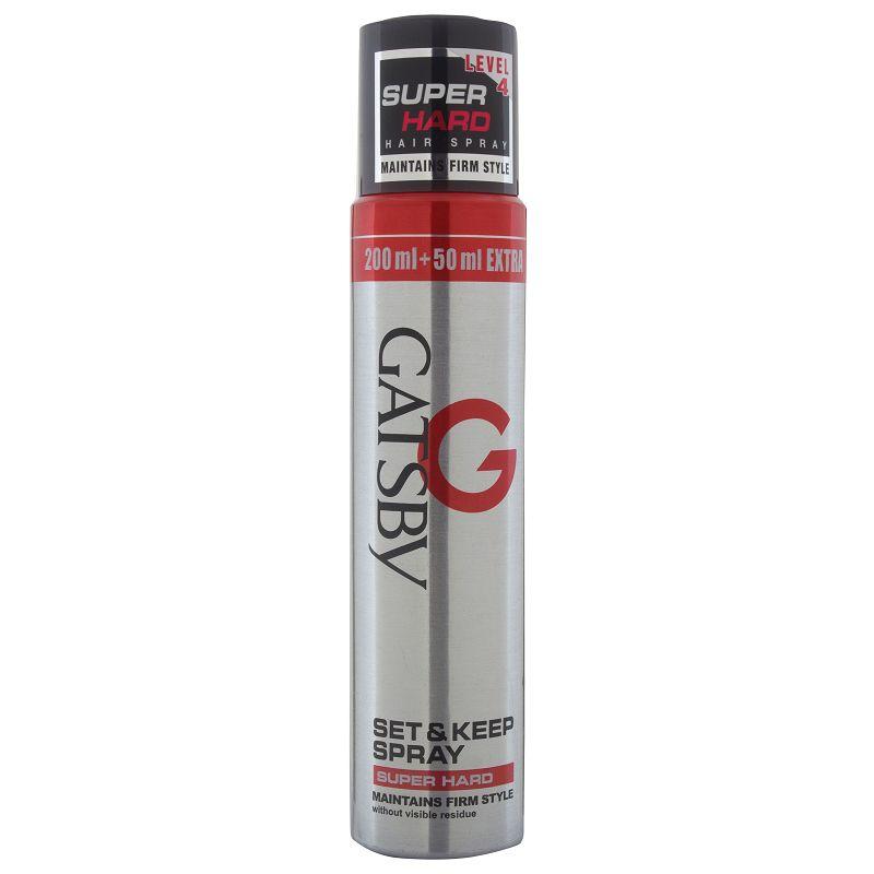 Gatsby Set Keep Super Hard Hair Spray 250ml