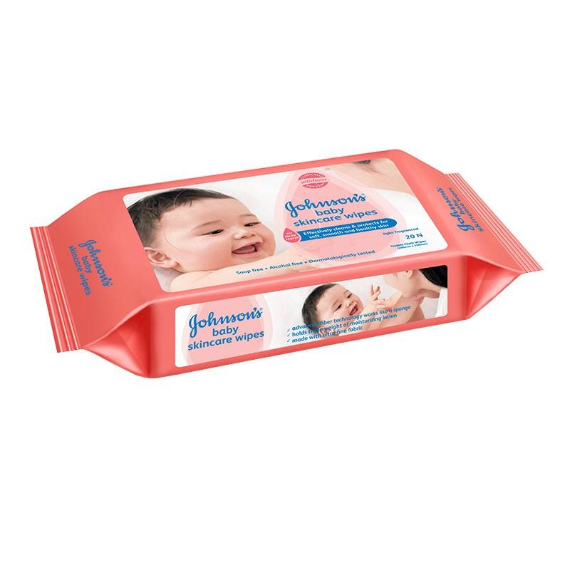 Johnson's Baby Skin Care Wipes 20N