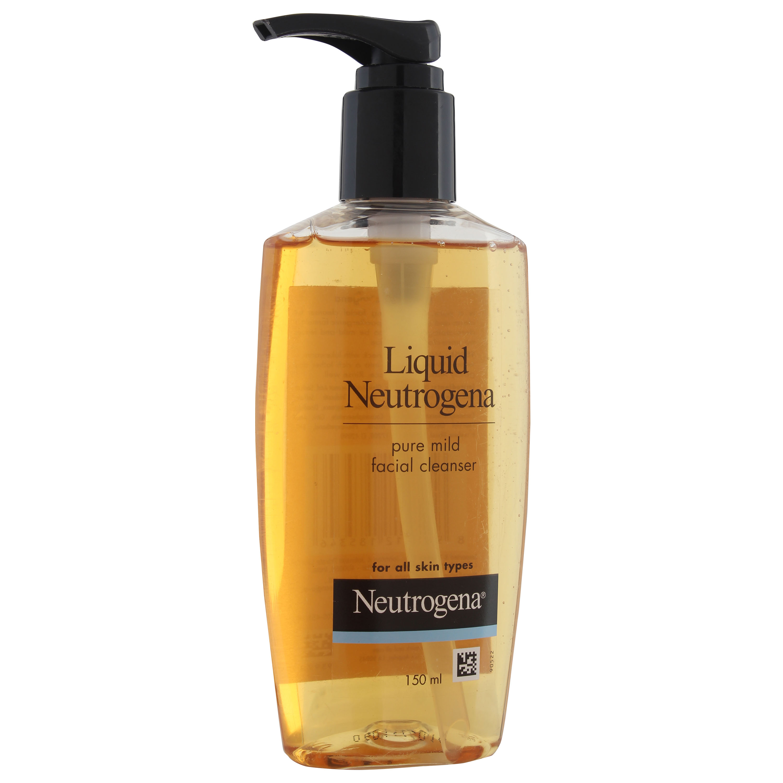 Neutrogena Liquid Neutrogena Pure Mild Facial Cleanser 150ml