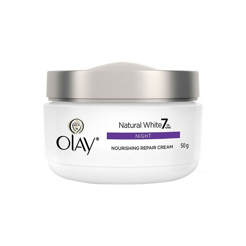 Olay Natural White Night Nourishing Repair Cream 50gm