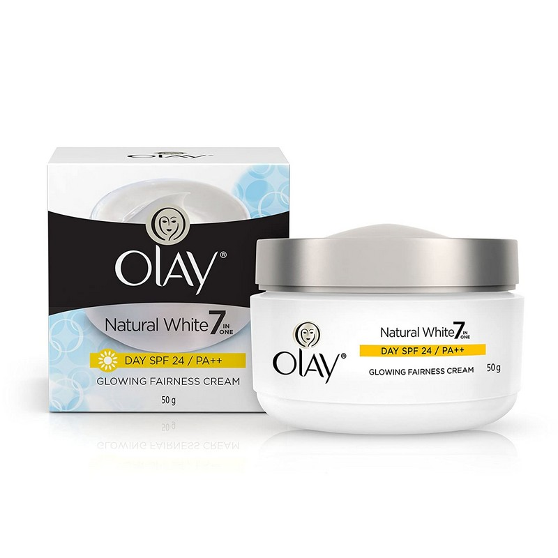 Olay Natural White Glowing Fairness Cream SPF24 50gm