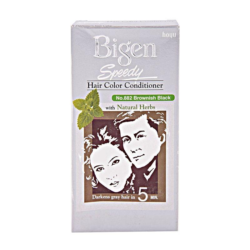 Bigen Speedy Hair Colour Conditioner Brownish Black 882
