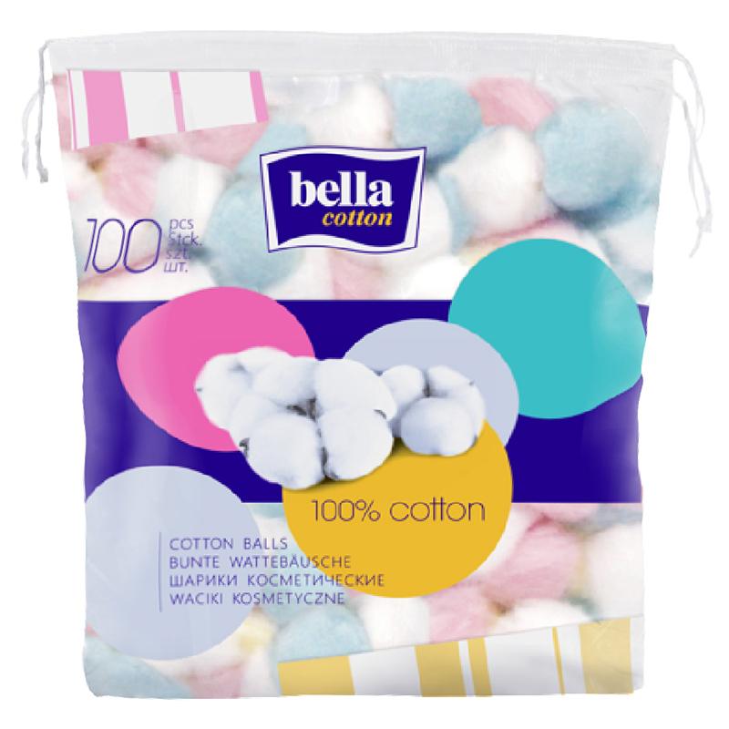 Bella Cotton Balls 100 Pieces