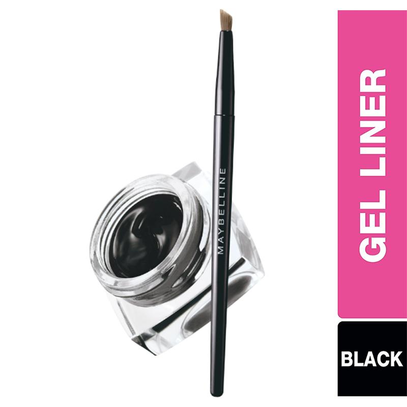 Maybelline New York Lasting Drama Gel Eyeliner Brush Black 01