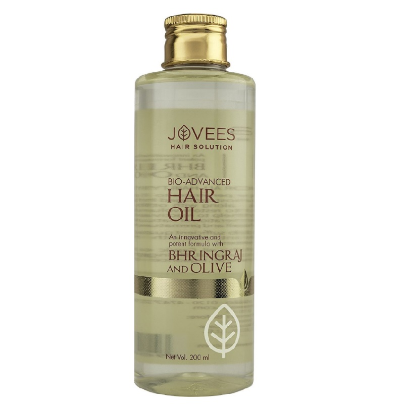 Jovees Bio-Advanced Hair Oil with Bhringraj and Olive 200ml